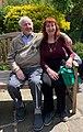 Professor Stanley Gelbier and his wife.jpg