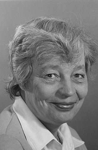 Susan Strange - Portrait of Susan Strange in 1980