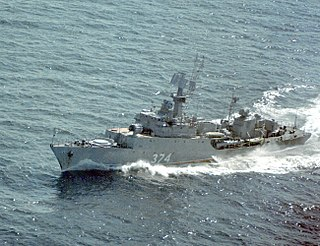 Ukrainian corvette <i>Lutsk</i> anti-submarine corvette