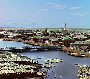 Tobolsk - View of Tobolsk in the 1913
