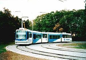 Škoda 05 T - Prototype in Plzeň
