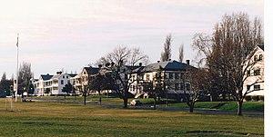 Fort Worden - Historic buildings at Fort Worden.