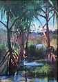 Pu Hala on the Waiakea River near Hilo, Hawaii by Helen Dranga.jpg