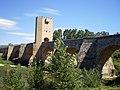 Puente medieval de la ciudad de Frías.JPG