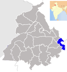 Punjab Sahibzada Ajit Singh Nagar district map.png