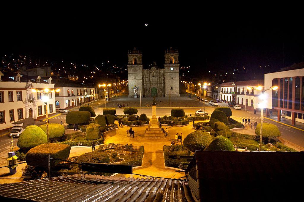 Plaza de Puno en Peru