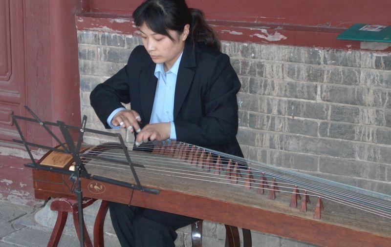 لآلةguzheng SonicCouture GuZheng
