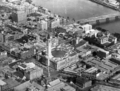 Queensland State Archives 190 Aerial view of the Brisbane central business district showing Victoria Bridge and the Brisbane River c 1934.png