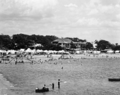 Queensland State Archives 2128 Campers on the beach Scarborough December 1937.png