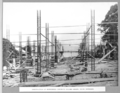 Queensland State Archives 3326 Construction of reinforced concrete column groups south approach 2 April 1936.png