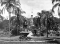 Queensland State Archives 6 City Botanic Gardens Alice Street looking towards Parliament House Brisbane October 1926.png