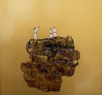 """Heavenly Questions - """"Question to heaven"""" from Wang Xiaolong's 2007 series: Tao's Queries."""