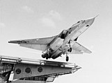 RA-5C of RVAH-6 is launched from USS Ranger (CVA-61) in 1968.jpg