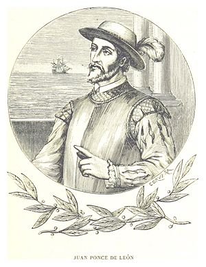 History of Florida - Juan Ponce de León (Santervás de Campos, Valladolid, Spain). He was one of the first Europeans to set foot in the current U.S.; he led the first European expedition to Florida, which he named.