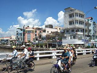 Rạch Giá City in Kiên Giang, Vietnam