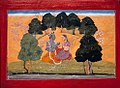 Radha-krishna in Forest from Gita govinda series by manaku.jpg