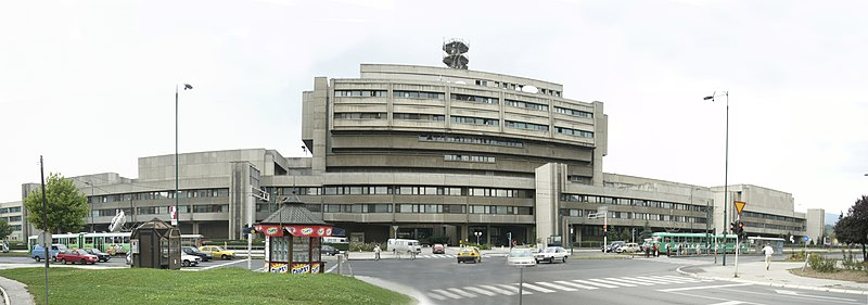 Radio and Television of Bosnia and Herzegovina (BHRT) building, Sarajevo.jpg