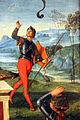 Raffaello, resurrezione di cristo, 1499-1502, 16.JPG