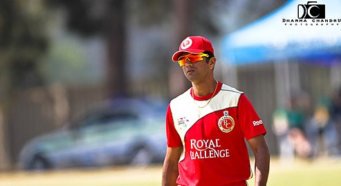 Rahul Dravid was the team's icon player in 2008.