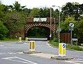 Railway bridge at Thurston - geograph.org.uk - 1281233.jpg
