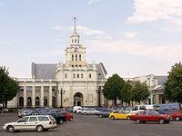 Railway station, Brest, Belarus.jpg