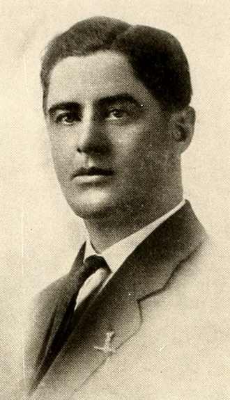 Ralph Thacker - Thacker pictured in The Forester 1917, Lake Forest yearbook