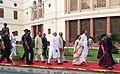Ram Nath Kovind, the Vice President, Shri M. Venkaiah Naidu, the Speaker, Lok Sabha, Smt. Sumitra Mahajan and the Prime Minister (2).JPG
