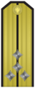 Rank insignia of Капитан-лейтенант of the Bulgarian Navy.png