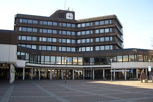 Rathausvorderseite Sankt Augustins