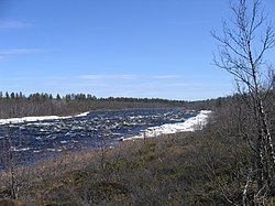 Rautas River between Käyrávuopio and Hansisaari.jpg