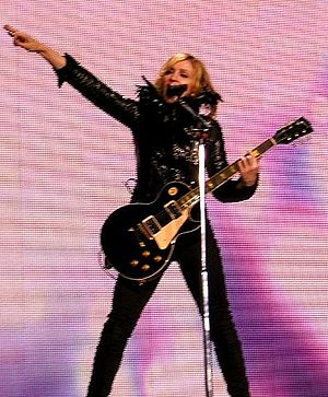 "Grammy Award for Best Dance Recording - 1999 award winner, Madonna, performing ""Ray of Light"" on the Confessions Tour"