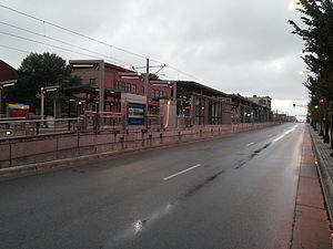 Raymond Avenue (Metro Transit station) - Raymond Avenue in 2014