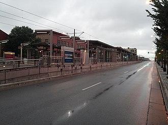 Raymond Avenue station - Raymond Avenue in 2014