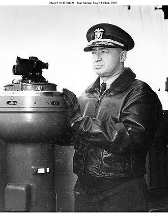 Joseph J. Clark - Admiral Joseph Clark