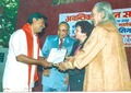 Receiving Honor by Padma Vibhushan Pandit Kishan Maharaj.tiff