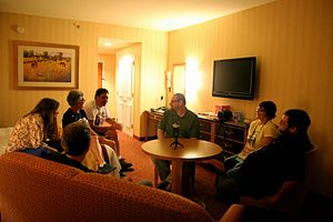 Skepticality - Image: Recording Skepticality at TAM 2013