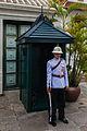 Regimiento Primero de Infantería de la Guardia Real, Gran Palacio, Bangkok, Tailandia, 2013-08-22, DD 10.JPG