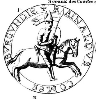 Reginald I, Count of Burgundy - Reginald I, Count of Burgundy