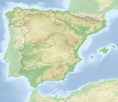 Localization of Catalonia in Spain