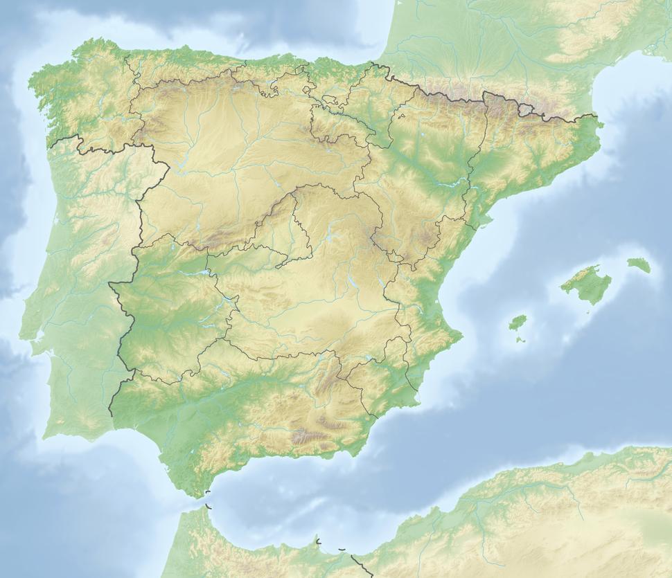 León ligger i Spanien