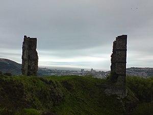 Morris Castle - Image: Remains of Morris Castle