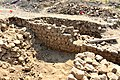 Remains of a Parthian building at Qalatga Darband, Darband-i Rania, Sulaymaniyah Governorate, Iraqi Kurdistan.jpg