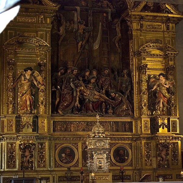 Archivo:Retablo mayor iglesia del sagrario.jpg