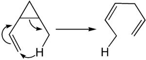 Mechanismus der Retro-En-Reaktion