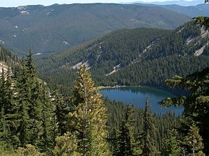 Revett Lake in Idaho Panhandle National Forest