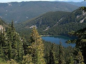 Coeur d'Alene National Forest - Revett Lake in Coeur d'Alene National Forest