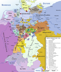 The Rhine Confederation 1806