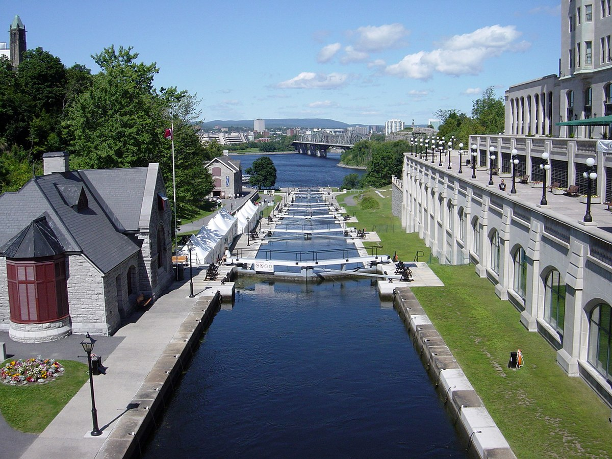 Rideau Canal Long Island Locks