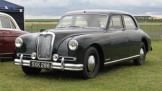 Riley Motor - RMH 2½-litre Pathfinder 1953 the last real Riley with the Big Four engine 1956 example