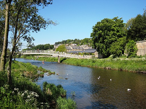 River Coquet at Rothbury - geograph.org.uk - 1772415